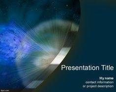 Supernova PowerPoint Template PPT Template