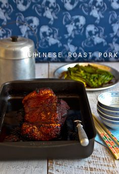 Aromatic Slow Roasted Chinese Roast Pork Shoulder by Not Quite Nigella Chinese Pork Shoulder Recipe, Pork Shoulder Roast, Asian Recipes, New Recipes, Cooking Recipes, Chinese Recipes, Ethnic Recipes, Hawaiian Recipes, Asian Foods