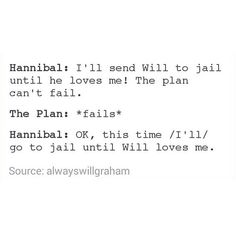 Hannibal humor | Jail time