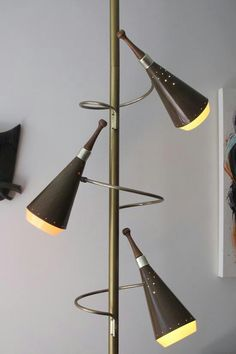 Danish tension pole lamp home sweet home pinterest pole pole lamp mozeypictures Images