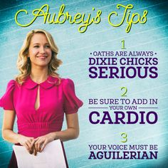 Aubrey knows best.
