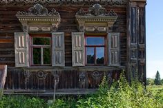 One Old House In The Abandoned Village - English Russia