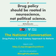 From NPR's National Conversation on drug policy