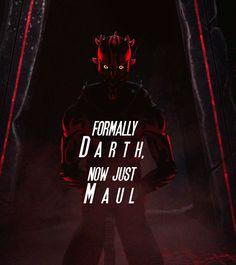 Star Wars Quotes, Star Wars Humor, Star Wars Rebels, Star Wars Clone Wars, Darth Maul Wallpaper, Grand Admiral Thrawn, Jedi Sith, Star Wars Images, Star Wars Fan Art