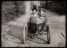 Children Drive Automobile Film at 11