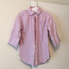 Polo Ralph Lauren Blouse Great condition Ralph Lauren Tops Button Down Shirts