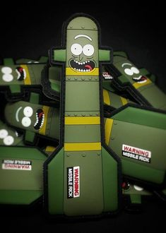 I turned myself into a hellfire, Morty! Im missile Riiiiiiiiiick! - 5 Long - PVC with hook backing ** All orders ship USPS First Class Mail ** Tactical Wall, Tactical Patches, Tactical Gear, Velcro Patches, Cool Patches, Pin And Patches, Plate Carrier Setup, Science Tricks, Rubber Keychain