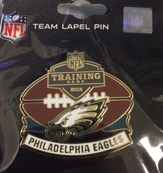 2015 #EaglesCamp pins are here!