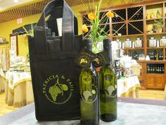 Help us save the environment one bag at a time. For your convenience, Patricia & Paul now offers a re-usable 4 bottle bag. Every time that you utilize our bag you will be entered into a monthly random drawing for a 375ml bottle of your favorite EVOO or Balsamic. How great is that, a win for you and a win for the environment!!