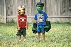 Before they were Avengers. | 33 Kids Who Are Gonna Grow Up To Be Just Fine