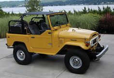 1978 Toyota Land Cruiser FJ40 For Sale Top Off