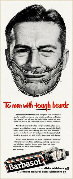 Tough Beard, 1952 by MewDeep, via Flickr