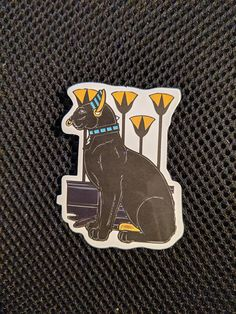 Lynx Egyptian Cat Sticker