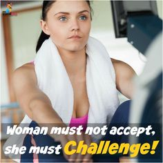 Its easy to back down from challenges. But that's certainly not what being a strong woman is all about. #withMsBee