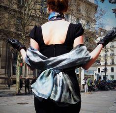 Our Luxury Silk Art Scarf By Phillip Ayers Silk Modal Silk Chiffon Silk Twill Scarves Original Abstract Artwork Shot in Paris High Fashion Accessories Silk Art, Silk Chiffon, High Fashion, Scarves, Fashion Accessories, Kimono, Paris, Abstract, Luxury