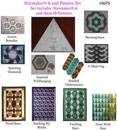 Starmaker 6 Master Template and Pattern Set