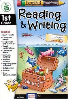 LeapPad Plus Writing: 1st Grade Reading and Writing by LeapFrog Toys, http://www.amazon.com/dp/B00009IM64/ref=cm_sw_r_pi_dp_riPWqb184NHHV