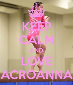 KEEP CALM AND LOVE ACROANNA