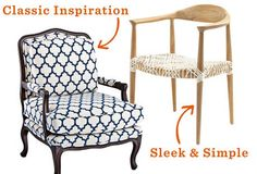 Chairs of All Styles - Great website for home ideas.