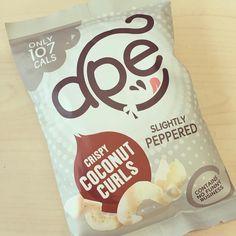Ape Coconut curls @apesnacks #munchhappy #veganfood #vegan #vegetarian #plantbased #fooddiary #healthyeating #cleaneating #foodie #nodairy #diet #cleaneats #tejalskitchen #healthyeats #dietlife #weightlossjourney #healthy