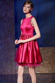 Robe rouge habillée pour pour cocktail