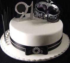 21st Birthday Key Cake Cakes Cakes More Cakes Cake