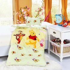 Winnie The Pooh Yellow Disney Sleeping Bag Sets