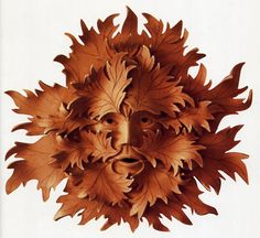 different green man, i like the red clay, wonder how it will take glaze though
