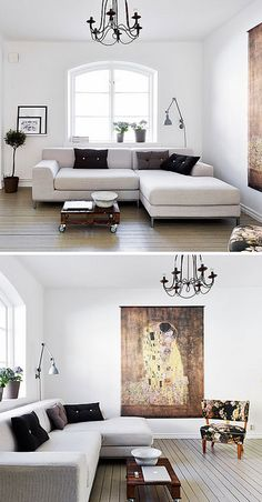 a lovely small apartment in gothenburg by the style files, via Flickr