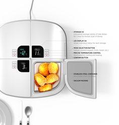 GOURMATE | Cooking Appliance & food storage | Designer: Jongha Lee