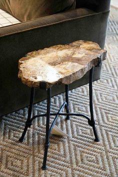 Petrified Wood Table - Bernhardt Furniture | Luxe Home Philadelphia