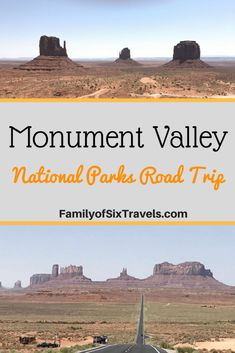 National Park Road Trip - Four Corners, Forrest Gump Point & Monument Valley - Utah & Arizona, USA