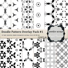 Instant Download  Set of 12 digital paper by jenniferscraps, $4.00