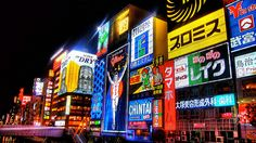 This is the Nanba, Shinsaibashi nightlife area in Osaka, Japan.  I spent my sophomore year of college living and partying in Osaka, NJ.  This neighborhood is also where the movie Black Rain was filmed (starring Michael Douglas).  Magic!