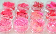 Pink Beads and Sequins
