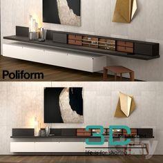 nice 138. Poliform 3D model Download here: http://3dmili.com/furniture/wardrobe-display-cabinets/138-poliform-3d-model.html