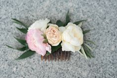 Pretty Summer Coral Peach Blush Wedding Flowers Utah | Calie Rose ...