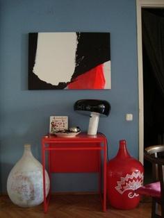 Nice Snoopy lamp & painting