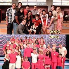 #Glee - 2009 & 2015