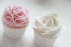 triple vanilla cupcakes (norwegian)