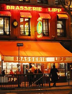 Brasserie Lipp, Hemingway hangout, Paris