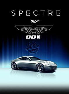 Aston Martin DB 10 #spectre #jamesbond #astonmartin. A most awesome automobile.