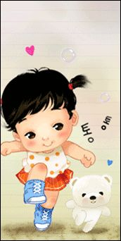 imagens cutes: Cute Animated Doll Tags