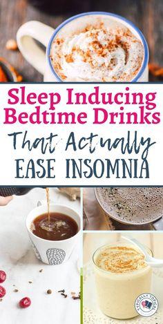 Yummy Smoothies, Yummy Drinks, Healthy Drinks, Healthy Shakes, Sleep Drink, Sleep Tea, Healthy Bedtime Snacks, Healthy Sleep, Healthy Breakfasts