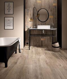 #moderne #badkamer #tegel #trend #houten #vloer #design