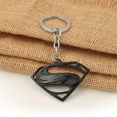 Item Type: Key Chains Fine or Fashion: Fashion Style: Classic Gender: Men Brand Name: yanqueens Material: Metal Metals Type: Zinc Alloy Shapepattern: Square Met Superman Symbol, Superman Logo, Avengers Series, Mundo Geek, Key Fobs, Key Rings, Geek Stuff, Presents, Symbols