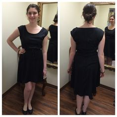 OLD NAVY black cute dress  Fun  size small Awesome lightweight black sleeveless dress with drawstring accent shoulders and waist. In perfect condition. This can be dressed up or down. Great piece for your wardrobe! Old Navy Dresses High Low