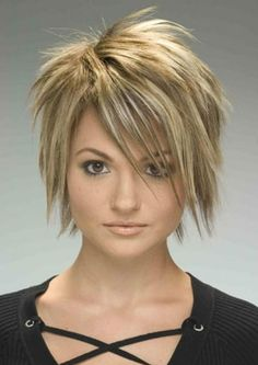 hairstyles for women over 50   Back to Post :Funky Short Hairstyles for Women, The Choice To Make You ...