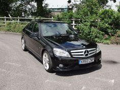 Mercedes-Benz C Class 3.0 C350 CDI BlueEFFICIENCY Sport 4dr Auto Saloon Diesel Black