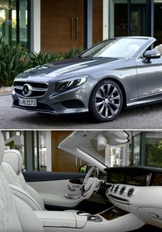 The new S-Class Cabriolet is the first open-top luxury four-seater from Mercedes-Benz since 1971. Click through to check out all of the details of this intelligent automobile.